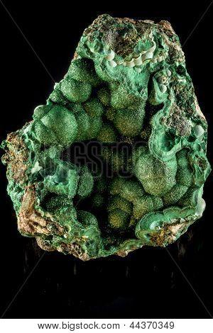 Malchite Mineral Rock