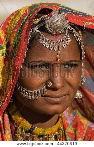 Portrait indian woman