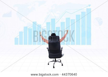 Successful Businessman Make Profit
