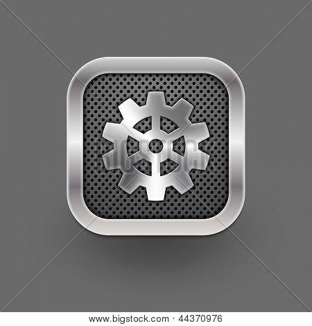 Gear icon. Vector eps10