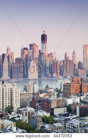 Financial Centre Of Manhattan, New York