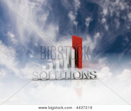 Solutions 3D Bar Graph
