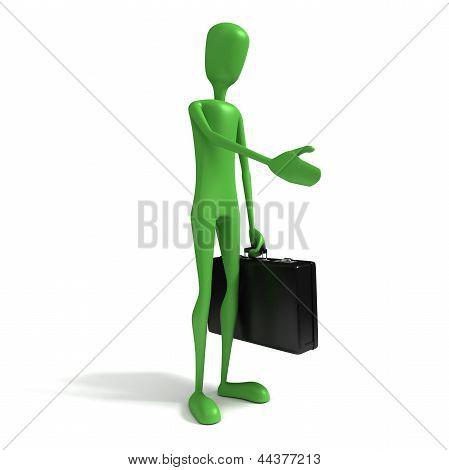 3D Man - Businessman