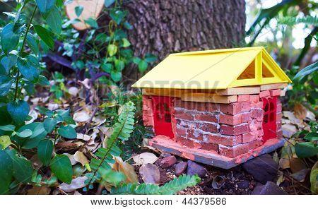 Handmade Gnome House