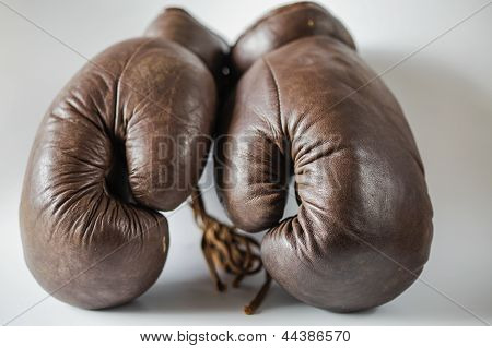 Old Fashioned Boxing Gloves