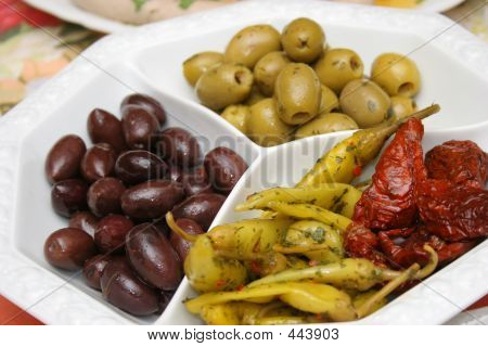 Plate With Antipasti