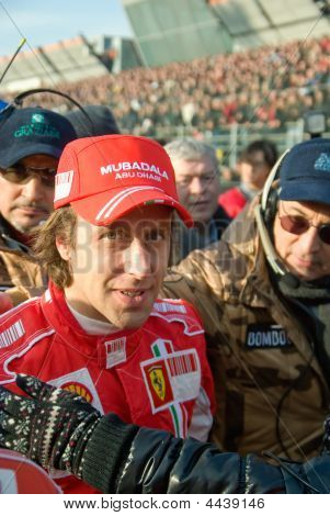 Luca Badoer,ferrari Team