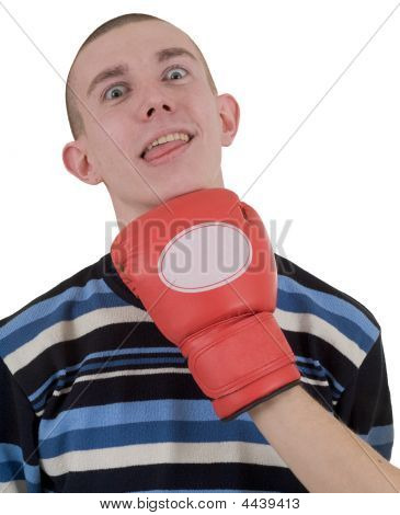 Man Taking A Punch