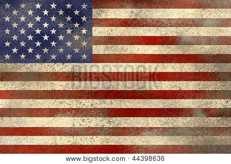 Usa Flag Filthy