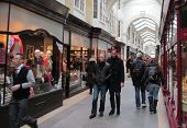 LONDON - APRIL 6: Londons, Burlington arcade, the worlds first covered shopping hall, as been acquir
