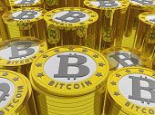 pic of bitcoin  - bitcoins background - JPG