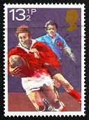 Selo postal Gb 1983 Rugby Football