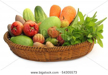 Tropical Fruits And Vegetables