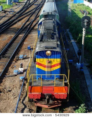 Mobile Electric Locomotive