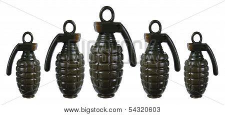 Toy Hand Grenades