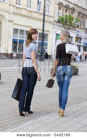 Caminar para ir de compras