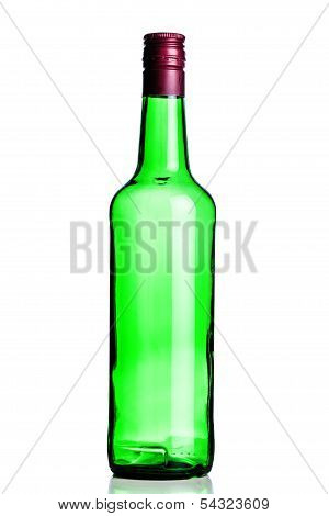 Empty Alcohol Bottle