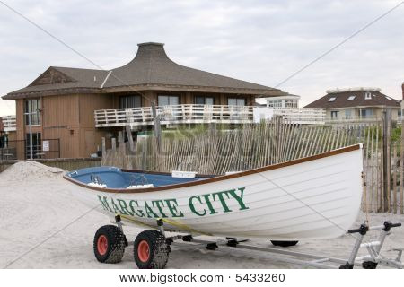Margate City rescue boat