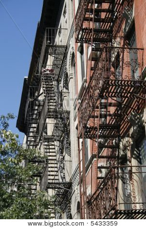 New York Fire escapes