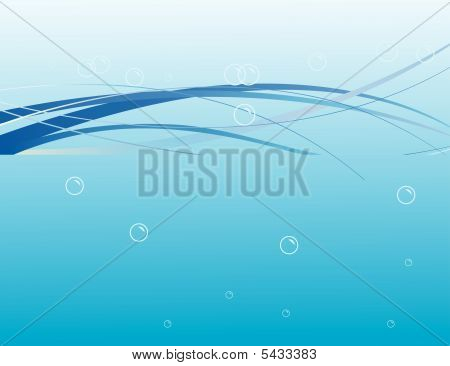 Air Bubbles In The Water