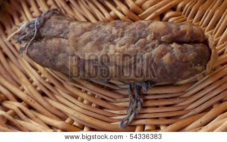 Single french sausage