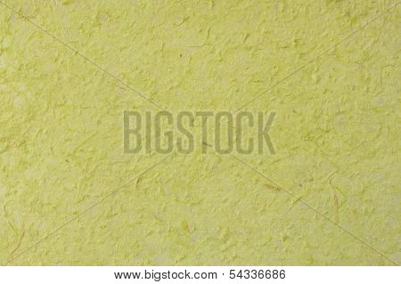 Green Mulberry Paper Hand Made