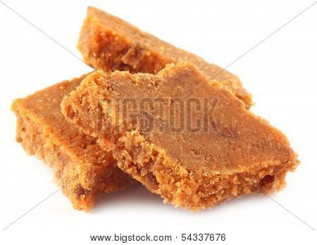 Barfi Made From Peanut And Coconut