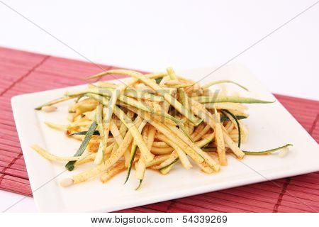 Salad of zucchini