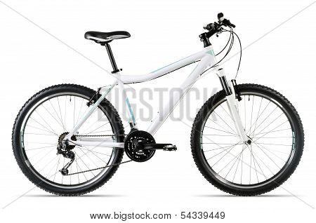 White Mountain Bike Before White Background