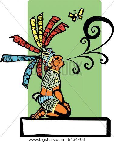 Maya Geschichtenerzähler