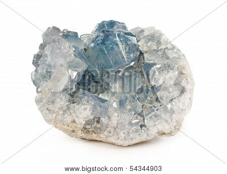Druze Celestite Close-up