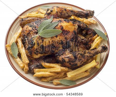 Roasted Chicken With Sage