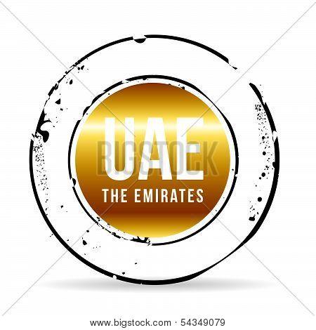 stamp united arab emirates