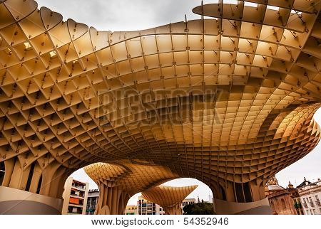 The Mushrooms Metropol Parasol Seville Andalusia Spain