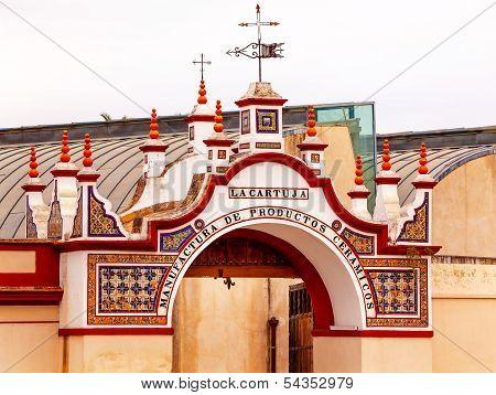 Centro Andaluz De Arte Contemporaneo Triana Seville Andalusia Spain