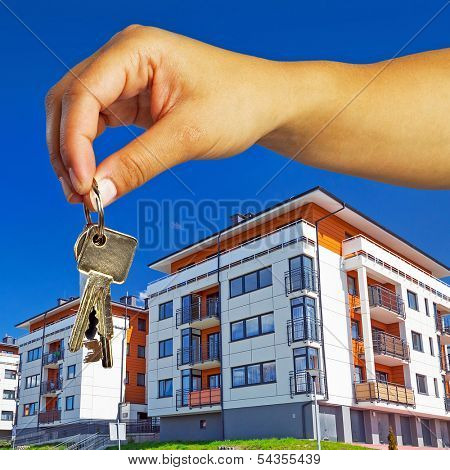 Keys to brand new apartment