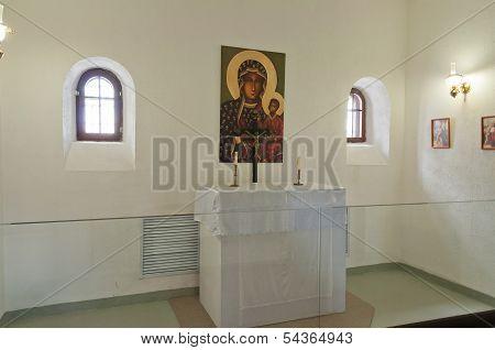 Church In Tobolsk Prison Castle