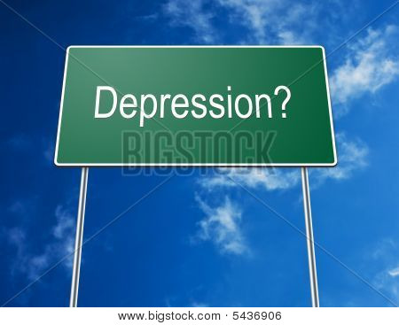 Road Sign Depression