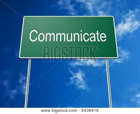 Road Sign Communicate