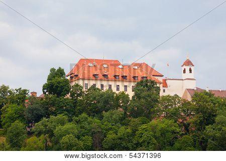 Ancient castle Spilberk Brno Czech Republic