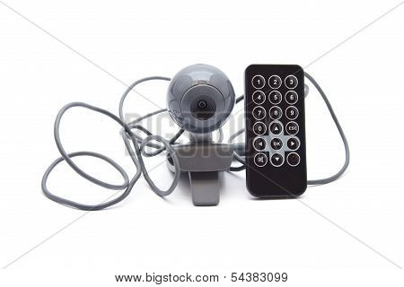 Webcam with Remote Control