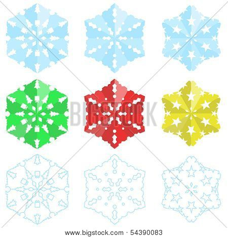 Paper Christmas Snowflakes
