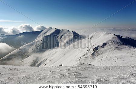 Mountain In Winter - Slovakia