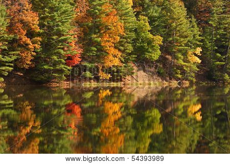 Watoga Lake Autumn