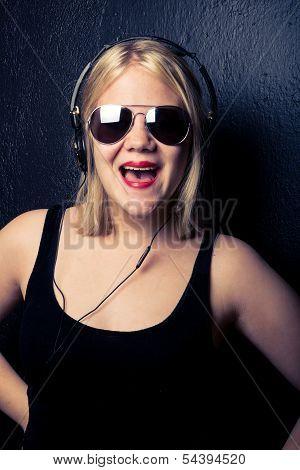 Young Sassy Girl Who Sings