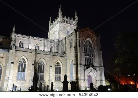Abbey Church at Night