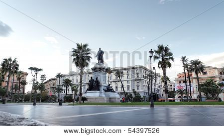 Piazza Cavour In Rome