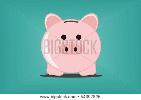 Piggy bank, vector