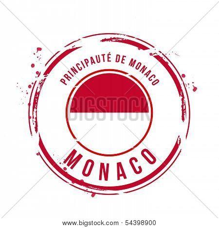 stamp Monaco