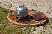 pic of armor suit  - Viking weaponry - JPG